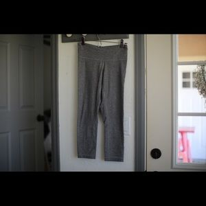 EUC grey cropped lulu